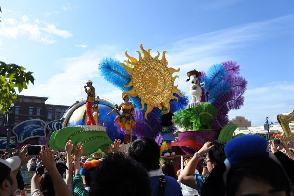 Float at Reborn Parade