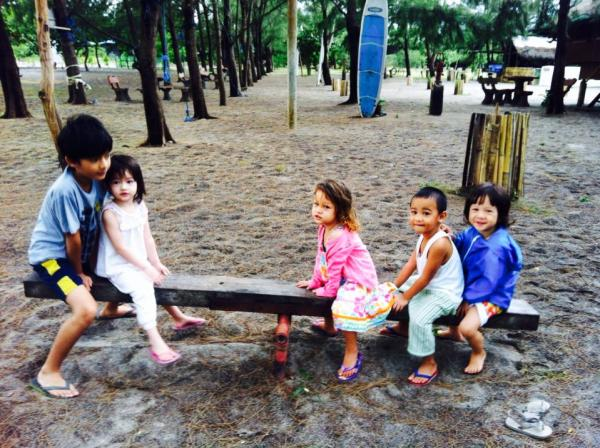 Kiddie fun at Crystal Beach Resort. Photo by Corinne Dinglasan