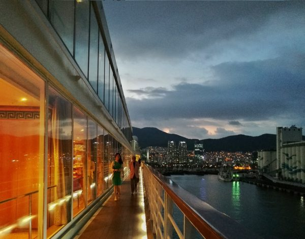 Leaving the Port of Busan
