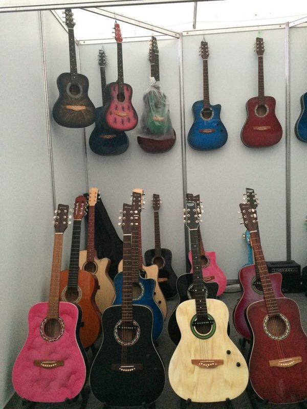Make wonderful music with these locally-made guitars