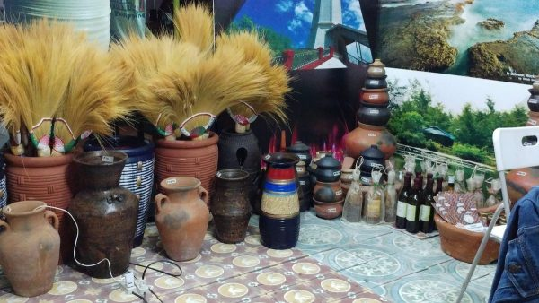 Northern exposure. Clay pots, native brooms, and wine from Ilocos.