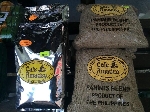 Perk up with Amadeo coffee.