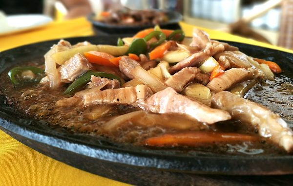 Sizzling Plate Lunch