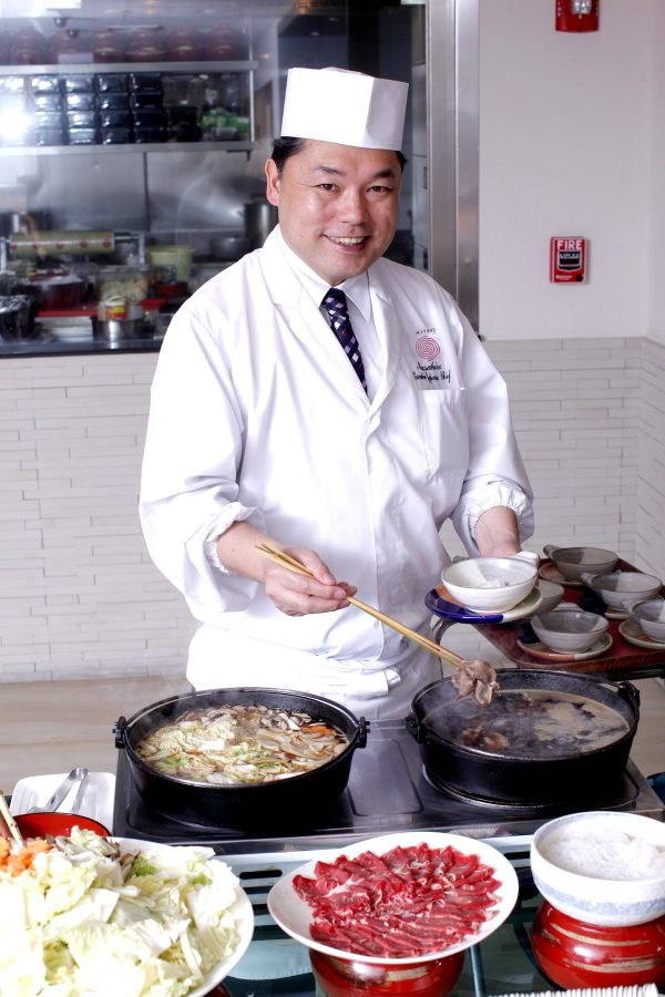 Executive Japanese Chef Masahiro Mizumoto - Love-filled Valentine Spread