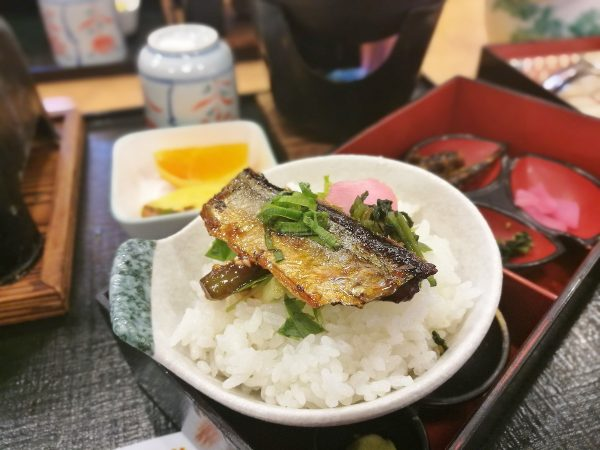 Lunch in Gamagori City