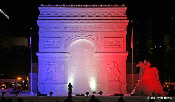 Arc de Triomphe at Night photo by HBC