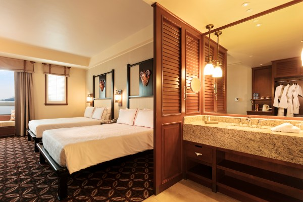 Disney Explorers Lodge Hotel Room