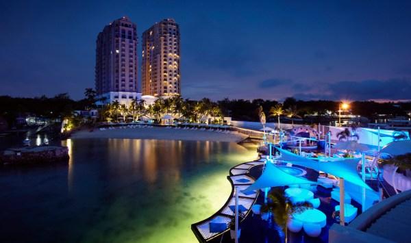 Movenpick Hotel Mactan Island Cebu at Night