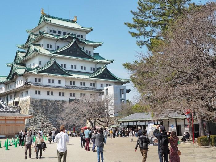 Nagoya Castle is Famous Japanese castle in Nagoya city and Chubu Region