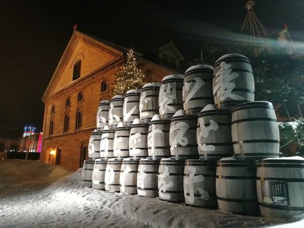 Sapporo Beer Museum in Hokkaido Japan