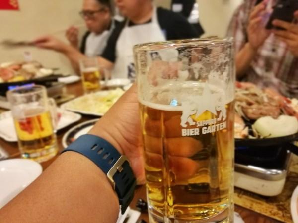 Sapporo Draft Beer