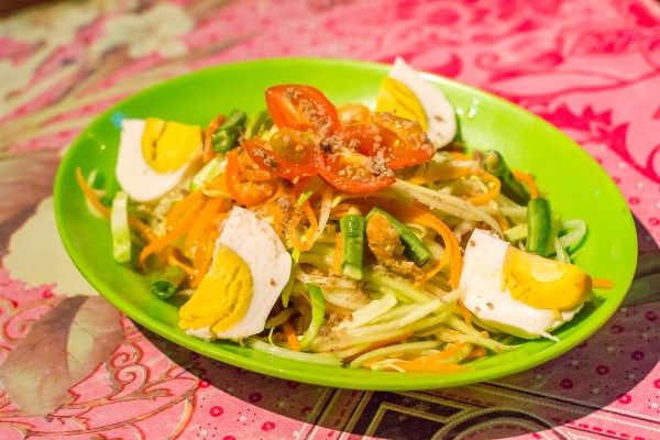 Incredible Som Tam Salad!