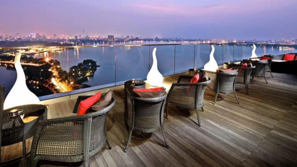 Summit Lounge at Pan Pacific in Hanoi