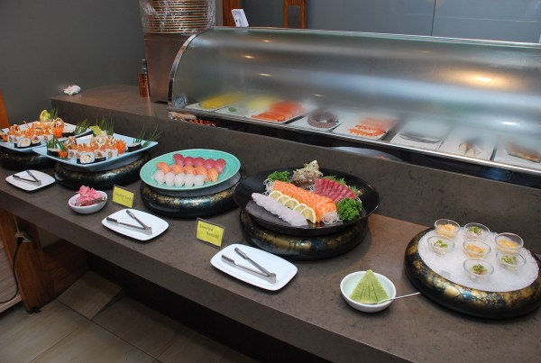 Assorted Sushi, Sashimi and appetizer
