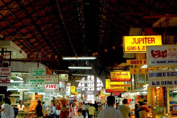 Bogyoke Aung San Market Jewelry Shops
