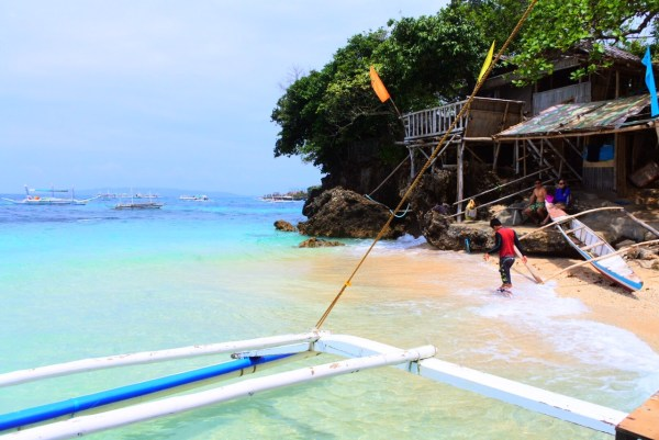 Crystal Cove Island Resort in Boracay