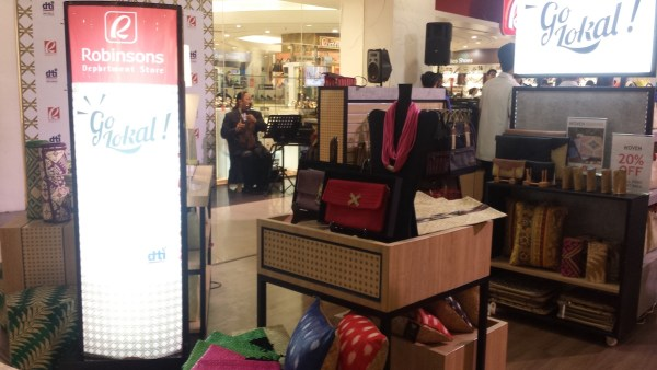 Go Lokal! at Robinsons Department Store