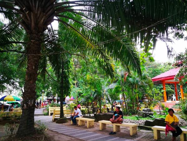 Luneta Park in Surigao City