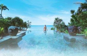 Shangri-La Boracay Infinity Pool