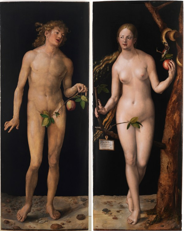 Albrecht Durer Adam and Eve, 1507