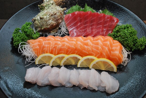 Assorted Sashimi at Kitsho Japanese Restaurant