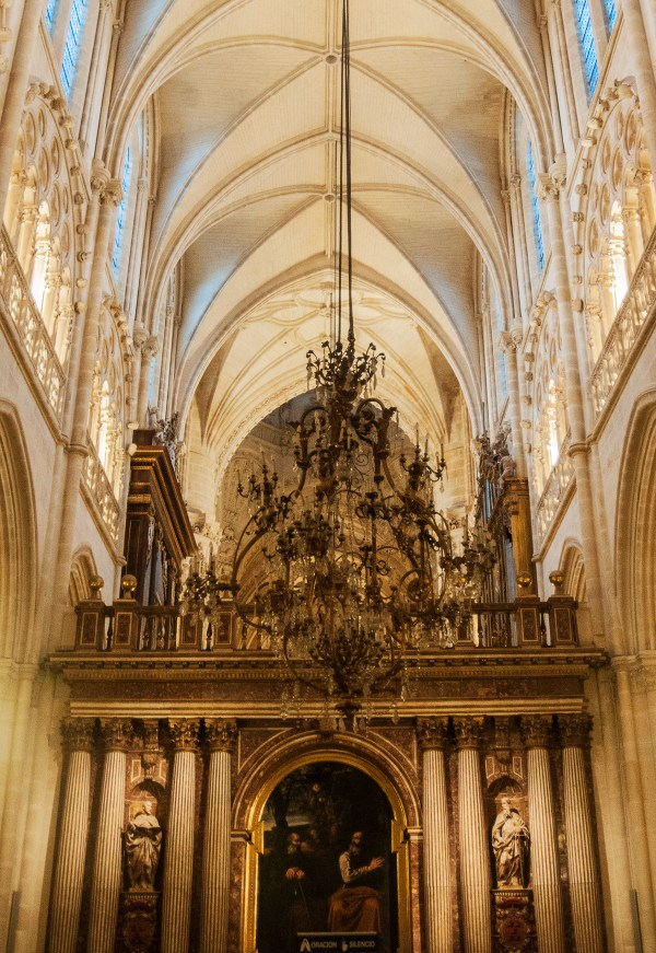 Delicate Gothic-designed arches at its finest