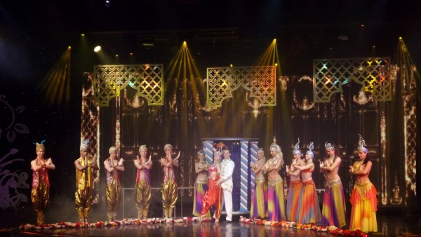 Entertainment inside Star Cruises Manila