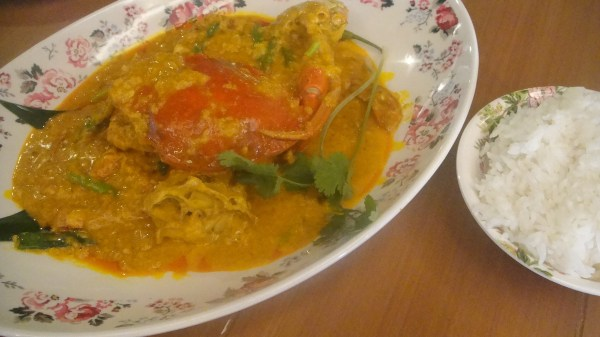 Fat Rice Curry Crab