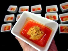 Gazpacho sandia gambita