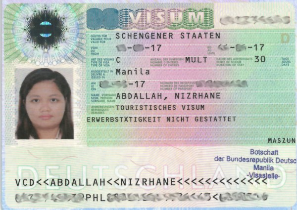 How To Get A German Schengen Visa for Philippine Passport Holders