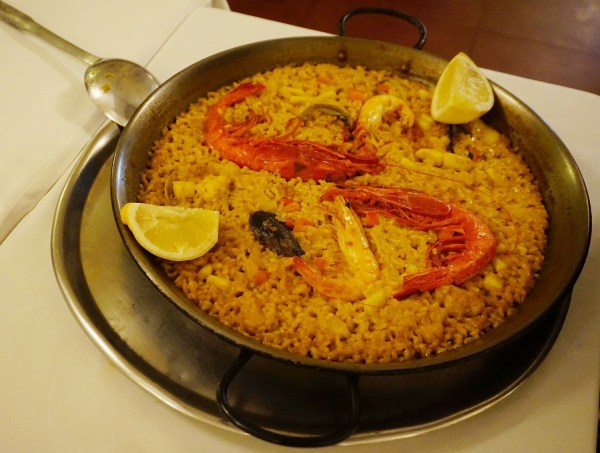 Mariniere of the House Paella