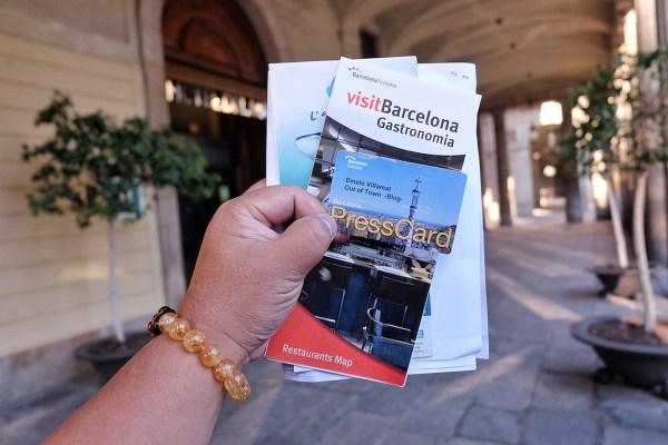 My Barcelona Press Card