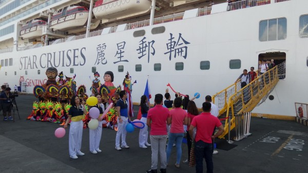 Star Cruises at the port of Manila