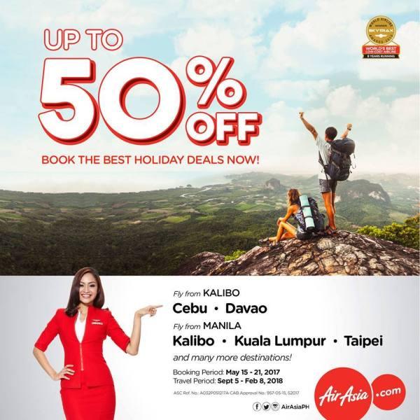 AirAsia May 2017 Holiday Deals