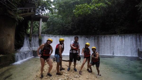 Behind us is the Kawasan Dam