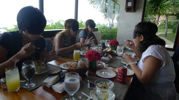 Blindfold Lunch at Shangri-La's Cowrie Cove