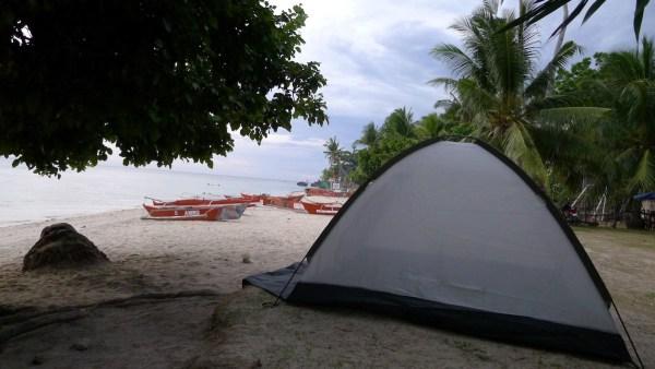 Camp at free public beaches