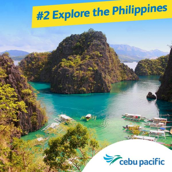 Cebu Pacific Coron Flight from Clark