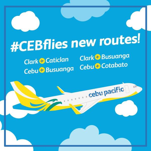 Cebu Pacific Opens 2 New Routes from Clark International Airport
