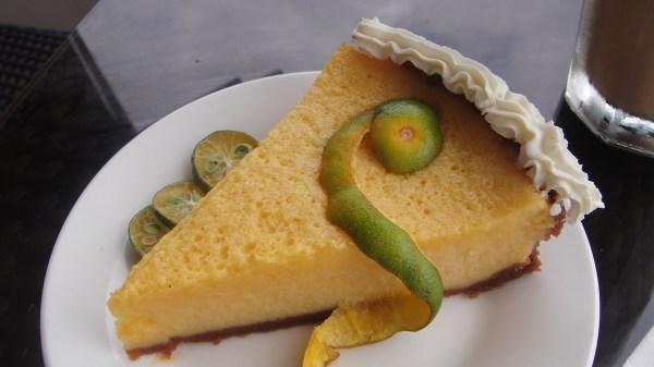 Coco Cafe's signature Calamansi Pie