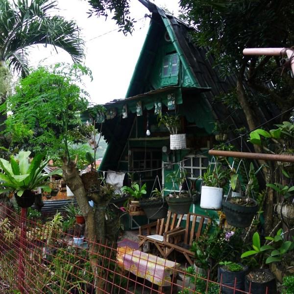 Interesting looking hut along the way