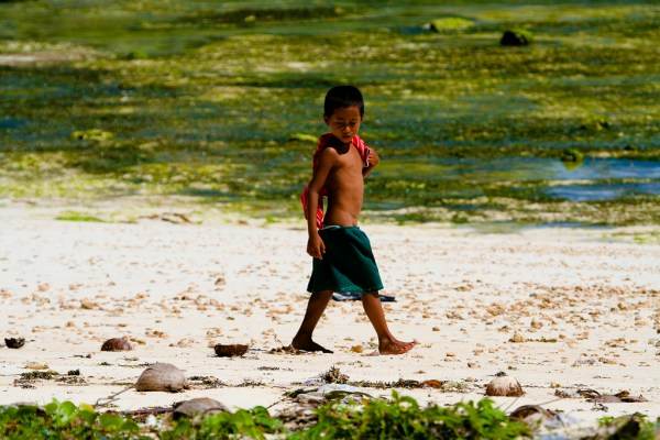 Kid in Siargao