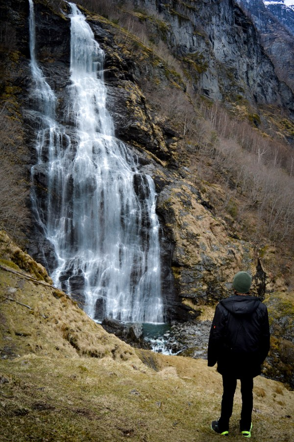 Majestic Waterfalls in Norway