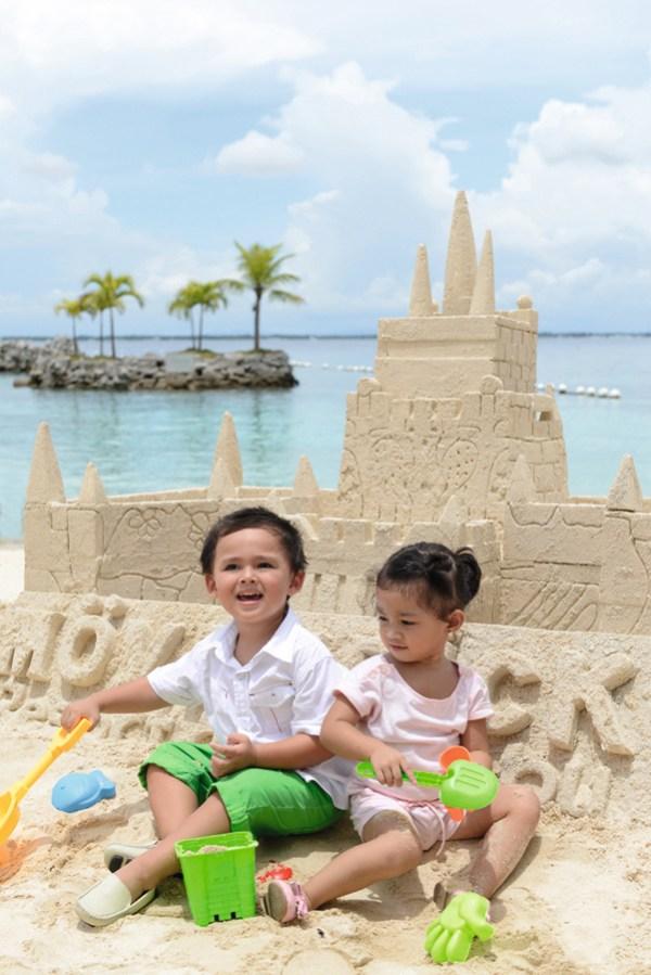 Sand, sun and fun