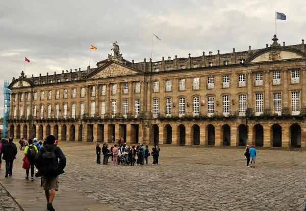 The City Council in Obradoiro Square.