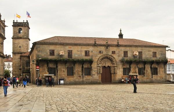 The University of Santiago de Compostela.