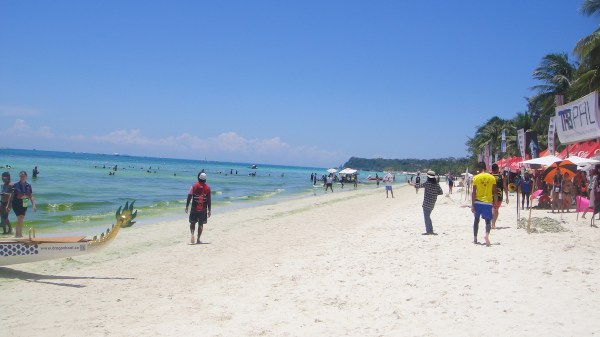 The beach scene during the 11th BIDBF