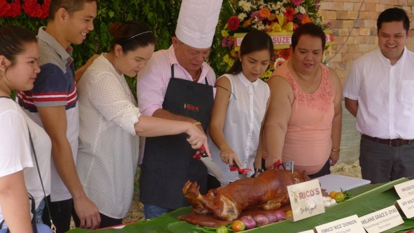 The people behind Rico's Lechon