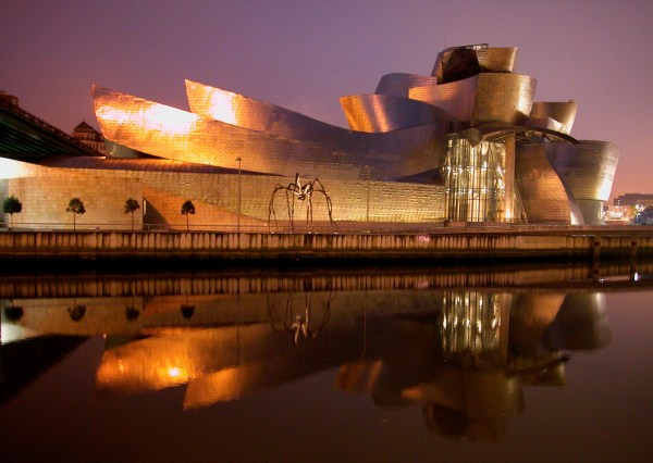 This was the museum that put Bilbao on the map: The Solomon Guggenheim, an architectural masterpiece by Frank Gehry.