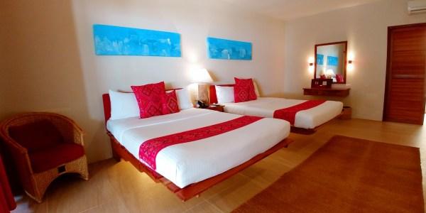 Beachfront Rooms at Maribago Resort in Mactan